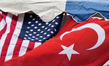 Turkey US Flags
