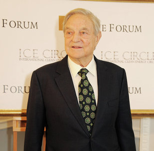 In an article titled Wake Up, Europe!, George Soros said that Russia's policy toward Ukraine represents a threat to the very existence of the European Union