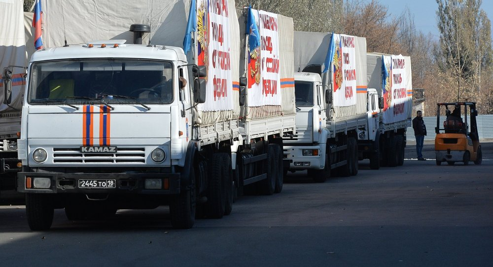 Eighth Russian Humanitarian Convoy Planned for Ukraine