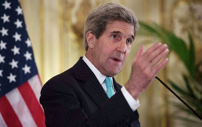 John Kerry said talks between the P5+1 group and Tehran on nuclear program show some progress, but differences still remain