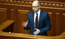 Arseniy Yatsenyuk reports on gas talks with Russia