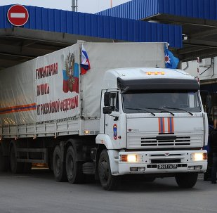 Seventh Russian humanitarian aid convoy departs to Donbas