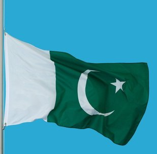 Flag of the Islamic Republic of Pakistan.