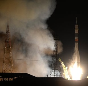 Soyuz TMA-15M spacecraft was launched from Baikonur Cosmodrome's Site 31