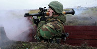 Russian Naval Infantry Exercise in Kaliningrad Region