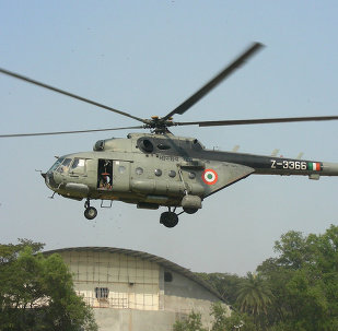 Indian Mi-17 helicopter
