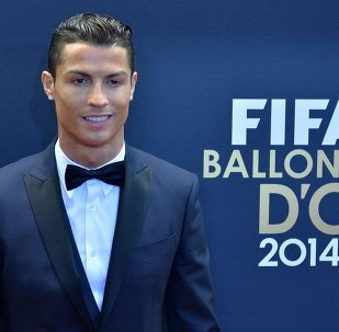 Cristiano Ronaldo of Portugal, one of the nominees for the FIFA Ballon d'Or 2014