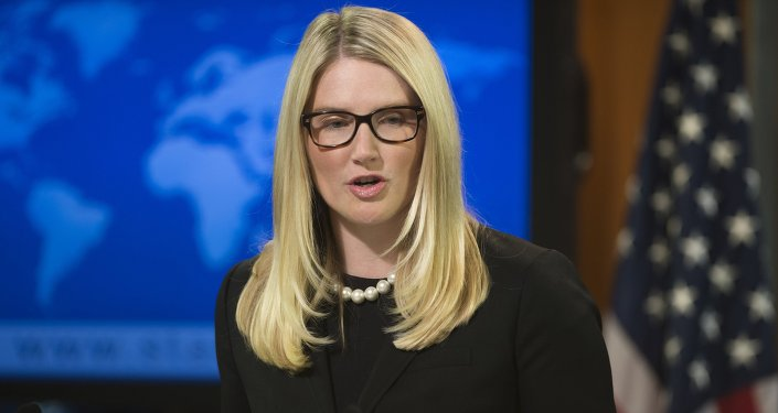 US State Department Deputy Spokesperson Marie Harf
