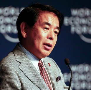 Hakubun Shimomura, Minister of Education, Culture, Sports, Science and Technology, and Minister of Olympic and Paralympic Games of Japan, speaks during The New Context for Japan event in the Swiss mountain resort of Davos January 22, 2015