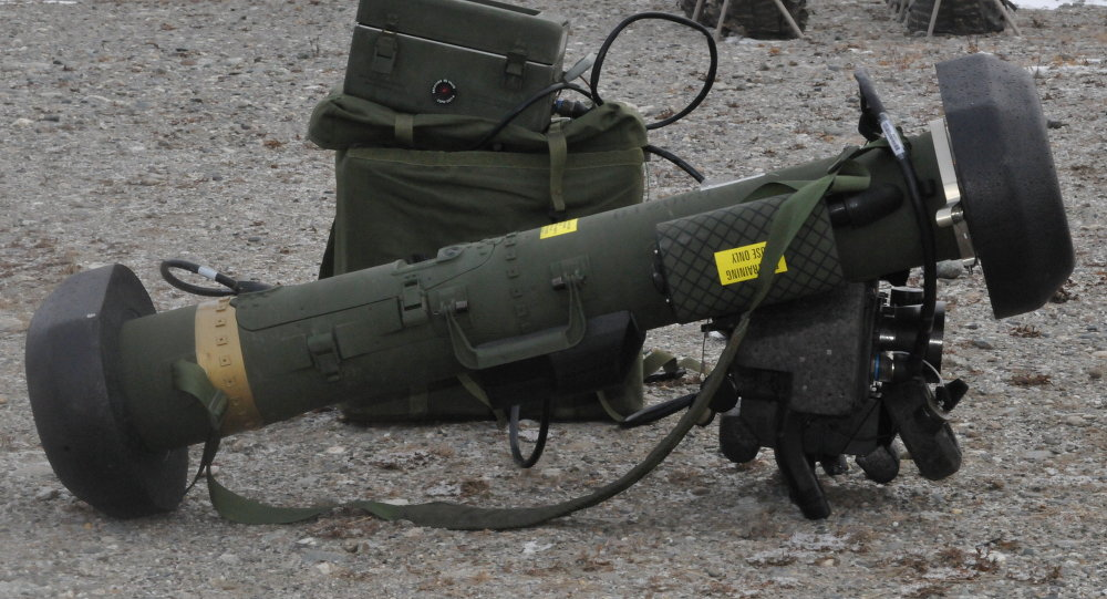 The FGM-148 Javelin Anti-tank Guided Missile