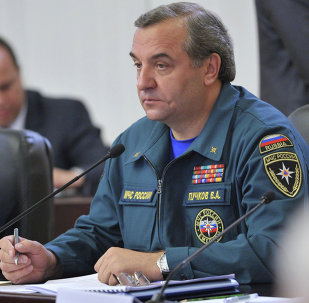 Russian Emergencies Minister Vladimir Puchkov