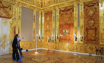A German retiree and his bowling buddies say they may be close to finding the long lost Amber Room  - a lavishly decorated chamber that the Nazis dismantled and stole from a Russian palace in 1941.