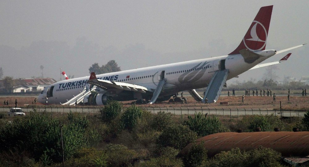 Turkish Airlines Jet Lands Safely After Engine Failure