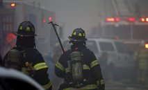 New York City Fire Department firefighters