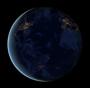Night lights of the Earth