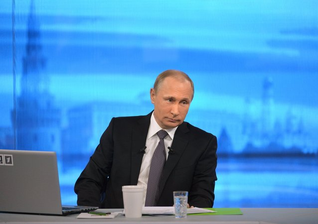 President Putin Holds Annual Q&A Session