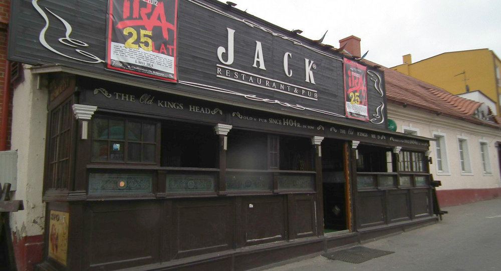 Jack pub, a small bar in the city of Bydgoszcz in northern Poland has banned Ukrainians from his facility.