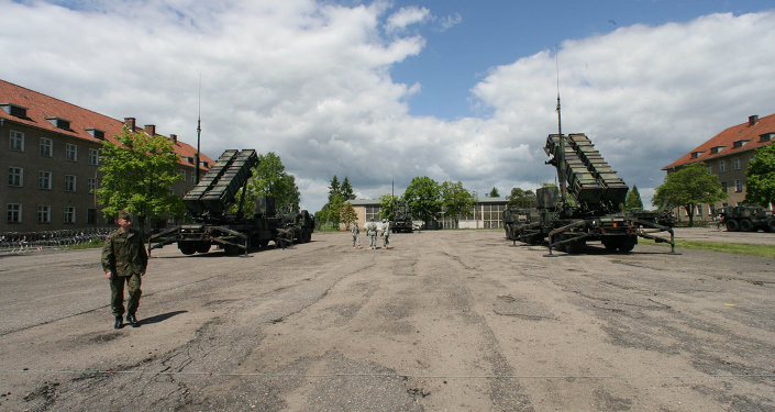 American Patriot missiles deployed in Poland
