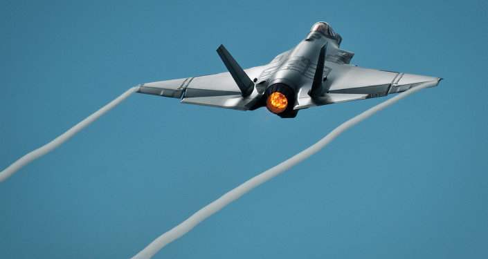 Lieutenant Colonel Christine Mau has become the first female pilot in US military history to fly a F-35 Lighting II jet.