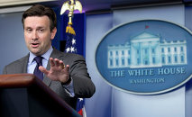White House press secretary Josh Earnest speaks during the daily news briefing at the White House in Washington
