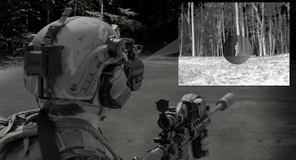 BAE Systems' integrated night vision targeting solution provides dismounted soldiers with rapid target acquisition capability.