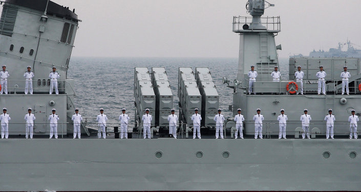 Officers of Chinese Naval Forces