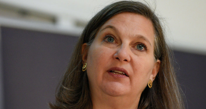 Assistant Secretary of State Victoria Nuland in Kiev