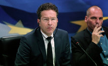 Dutch Finance Minister and Eurogroup President Jeroen Dijsselbloem