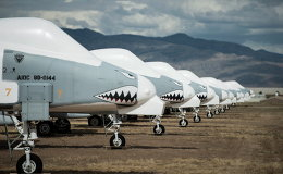 Rest in Peace: World's Biggest Military Aircraft Boneyard