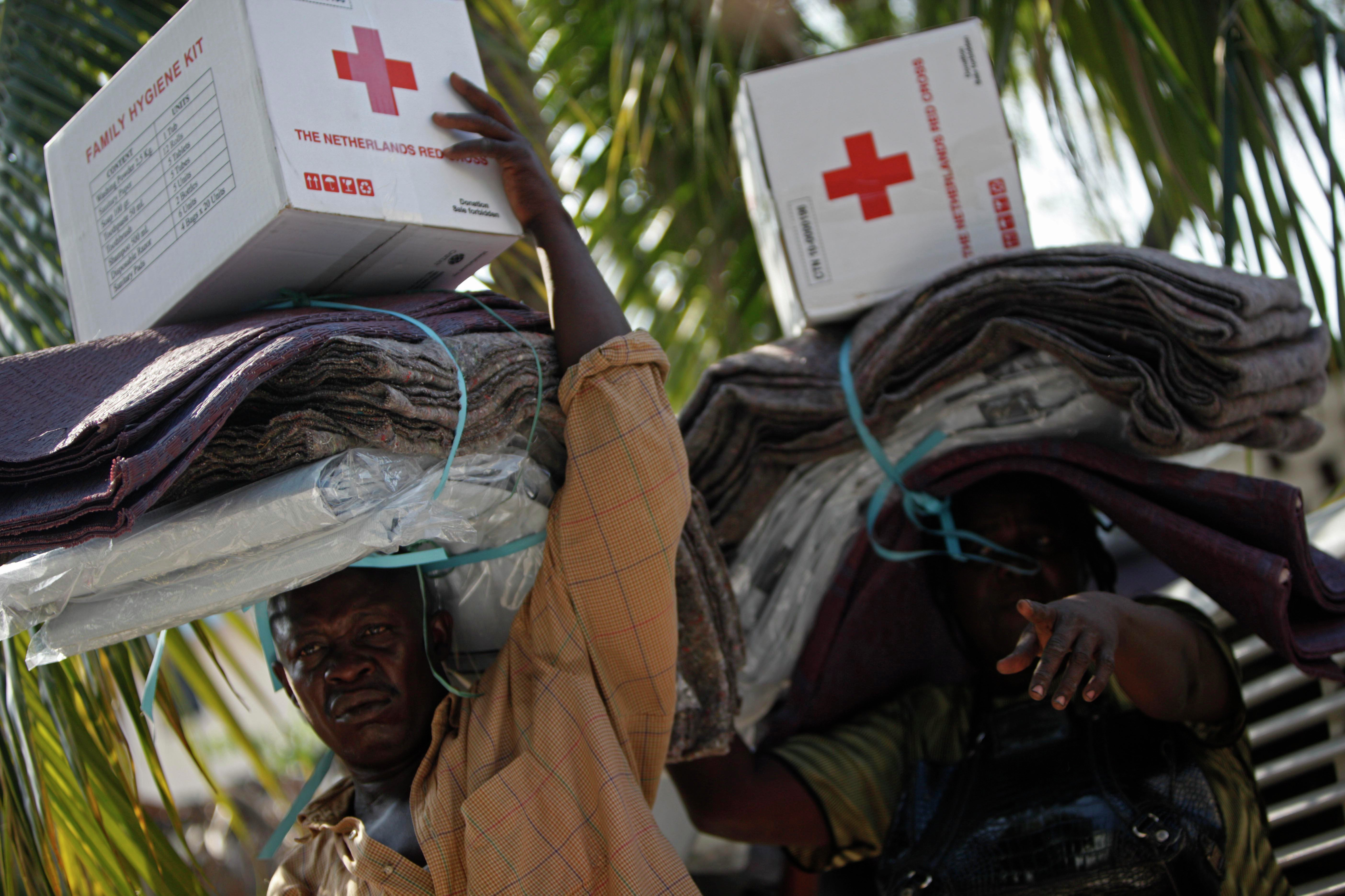 The problem of The American Red Cross' missing money is a cycle of overhead, says Jonathan Katz, an Associated Press reporter who tracked post-disaster spending in Haiti. It was always going to be the American Red Cross taking a 9 percent cut, re-granting to another group, which would take out their cut.