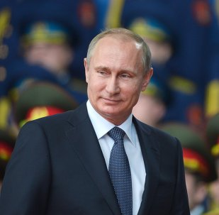 President Vladimir Putin takes part in opening ARMY-2015 international forum