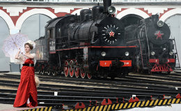 Choo Choo! Moscow Showcases Steam Trains