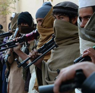 Afghan Taliban fighters. File photo
