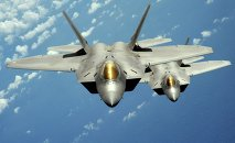 Four US F-22 tactical fighter jets have arrived in Germany to begin training exercises.