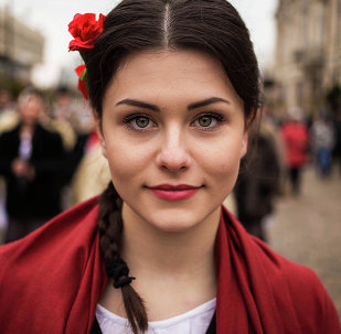 "My goal is to continue and take photos of women from each country of the globe, making ""The Atlas Of Beauty"" a mirror of our diverse societies and an inspiration for people that try to remain authentic. A young woman from Moldova."