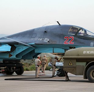 Sputnik Exclusive: Russian Sukhoi jets at airfield near Latakia