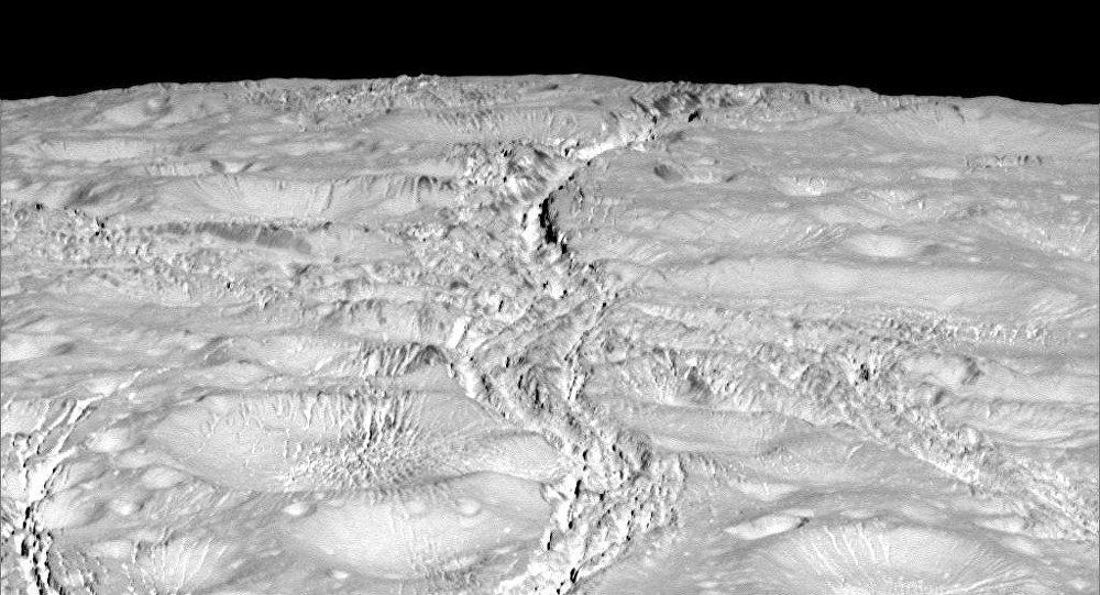 Enceladus Surface Nasa