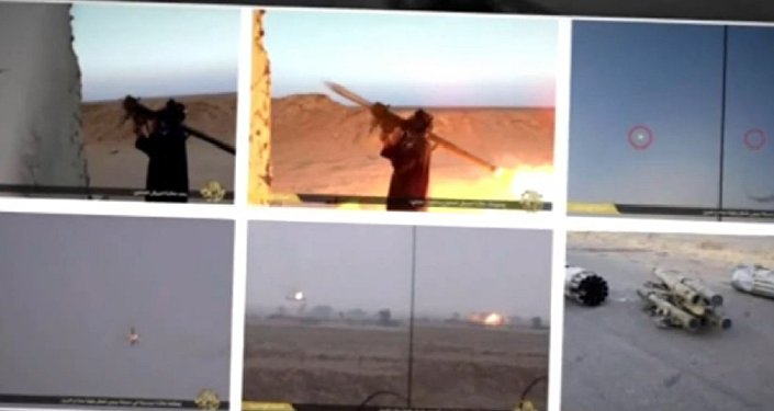 ISIL terrorist group has released images showing its members use an FN-6 portable air-defense system against the Iraqi army