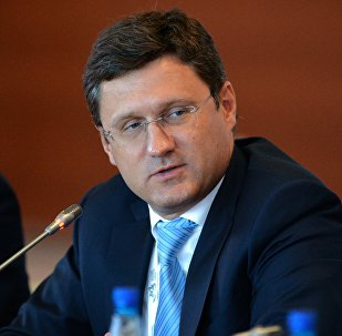 Energy Minister Alexander Novak at the key session The Strength of East Russia