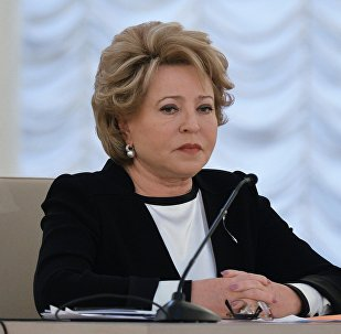 Federation Council Speaker Valentina Matvienko.