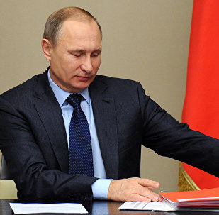 President Vladimir Putin chairs meeting of Russian Security Council