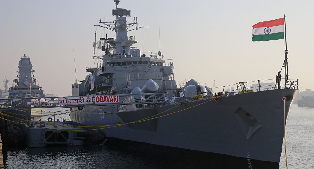 India Says Farewell To First Godavari Class Frigate