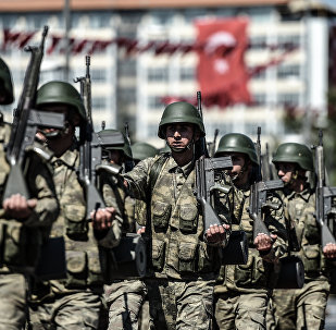 Turkish soldiers