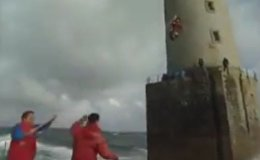 Changing the lighthouse keeper