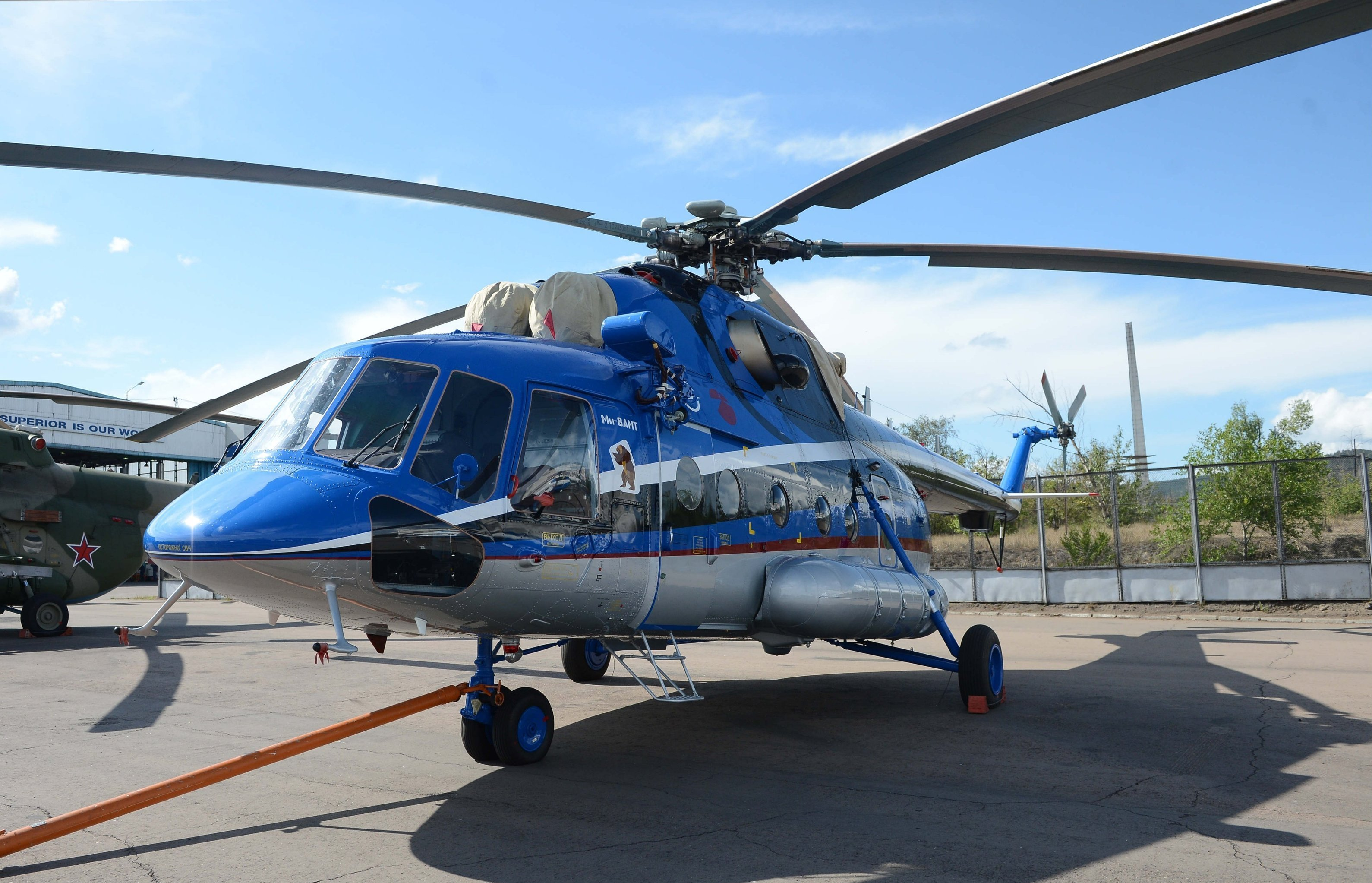Helicopter Mi-8AMT (export name - Mi-171Sh)