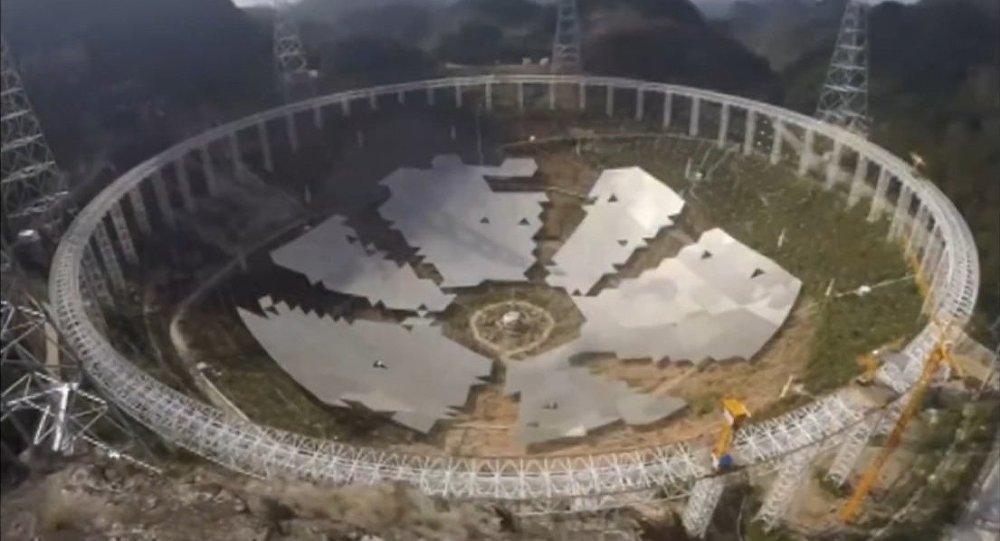 More to this than meets the eye: China Relocates 10,000 for Giant Telescope 1034873573