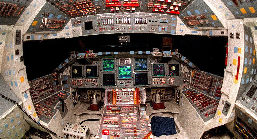 space shuttle cockpit 1920x1200 - photo #17