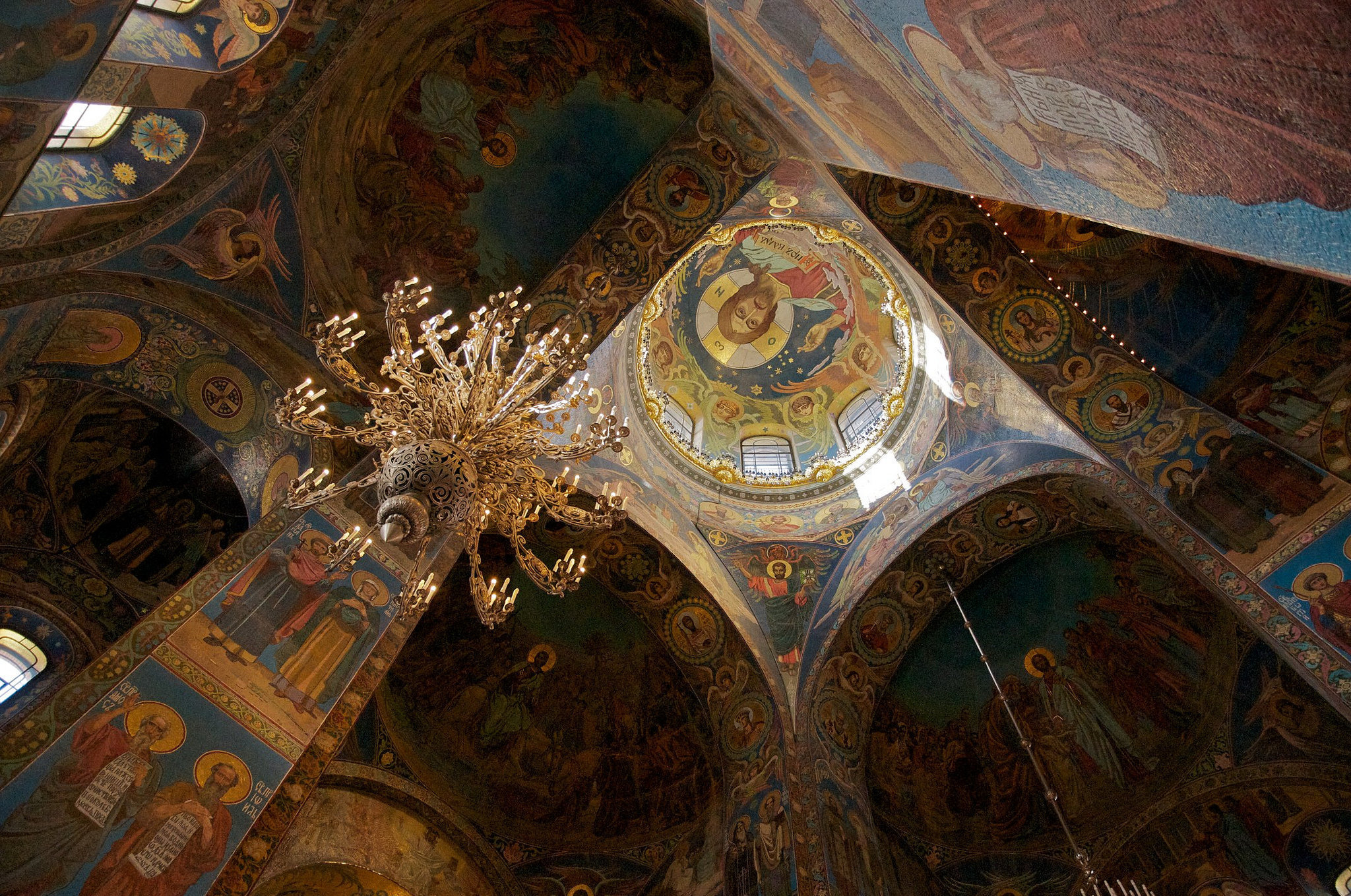 Ceiling of the Church of the Saviour on Spilled Blood