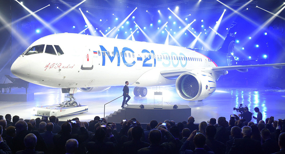 New Russian MC-21 passenger airliner to be showcased in Siberia