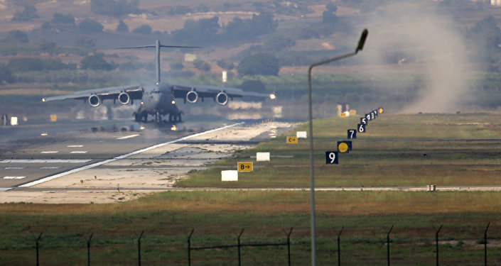 Incirlik Air Base, on the outskirts of the city of Adana, southern Turkey (File)
